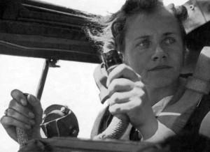 Любимица фюрера Ханна Райч побывала в Антарктиде в 1943 году.