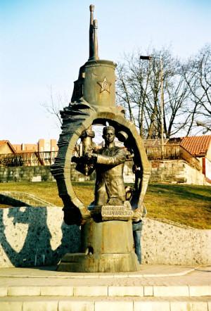 Памятник Маринеско в Калининграде.