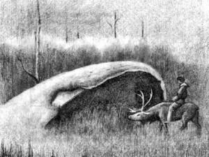 «Котел» в 1936 году. Рисунок Ю. Михайловского