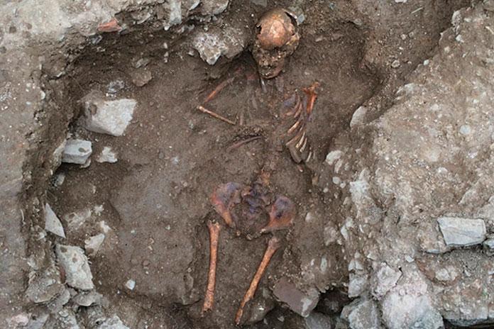 """Скелет 13-летней """"колдуньи"""" / ©Pinterest"""