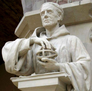 Статуя Роджера Бэкона в Оксфордском музее естественной истории