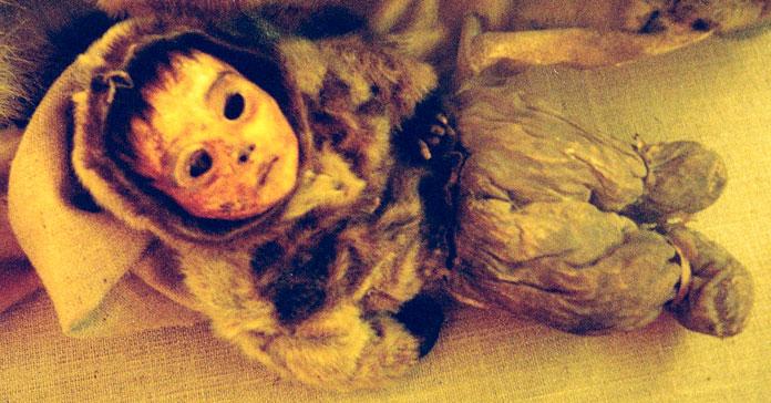 Мумия полугодовалого младенца / ©Wikipedia