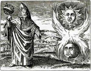 Таинственный Гермес Трисмегист - существовал ли он в реальности? Рисунок XVII века