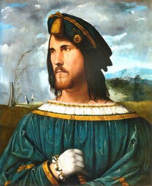 Альтобелло Мелоне. «Портрет дворянина». 1500-1524 годы. Предполагаемый портрет Чезаре Борджиа