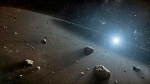 Пояс астероидов сформирован из обломков планеты Фаэтон