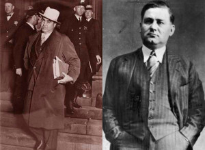 Два преступных короля: Аль Капоне и Багс Моран