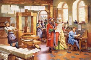 Главный труд жизни Иоганна Гутенберга — 42-строчная Библия — стал целой вехой в издательском деле.