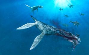 Под Кок-Колем на большой глубине находятся подводные пещеры. Уфологи считают, что в них вполне могли выжить ихтиозавр