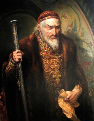 В некоторых летописях времен правления Ивана Грозного имеются сведения о насильственной смерти царя. Якобы Борис Годунов и его соратники «преждевременно прекратили жизнь царя, подкупив лечащего врача, который подмешал яд в лекарство».
