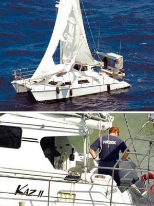 Яхта-призрак «Каз II», обнаруженная неподалеку от Австралии