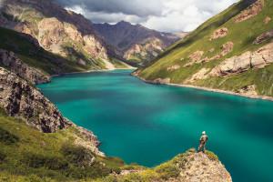 Еще одно название - живое озеро - Кок-Коль получило благодаря своей способности к самоочищению.