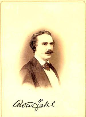 Альберт Генрихович Цабель своему окружению говорил, что взял «презрелую» девицу в жены из сострадания.