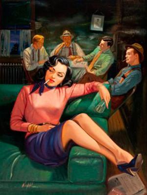 «Бетти любила опасные игры с мужчинами. Сначала она разжигала похоть и давала двусмысленные обещания, а затем словно окатывала равнодушием и холодностью».