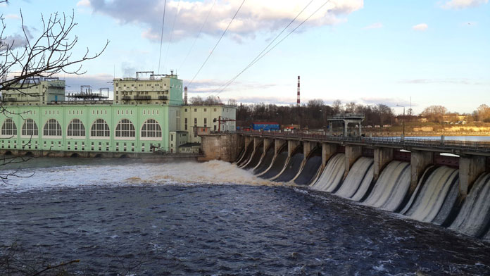 Volkhov-hydroelectric-plant