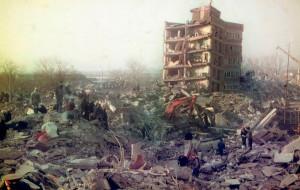 1988 год - землетрясение в Армении