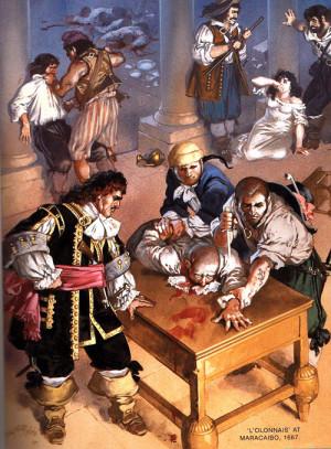 Пираты никого не жалели