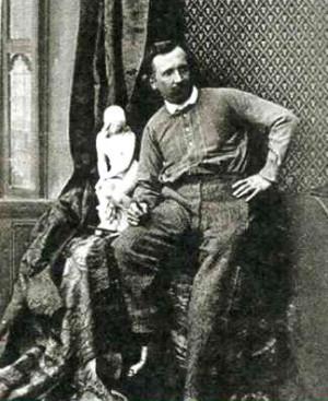 Итальянский скульптор Рафаэль Монти. 1860 год