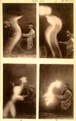 Иллюстрации из книги Александра Аксакова «Спиритизм и анимизм»