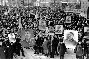 Траурный митинг трудящихся Воронежа