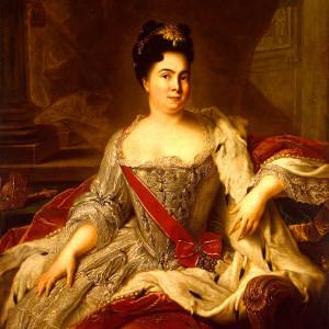 Настоящее имя императрицы Екатерины I - Марта Скавронская, после первого замужества - Крузе