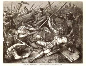 В одном из боев Спартак был ранен в бедро дротиком