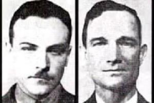 Лейтенант Эрнест Коди и мичман Чарльз Адамс