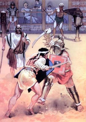 Римские гладиаторы