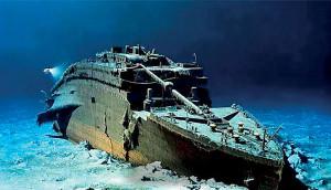 Глубина, на которой лежит изрядно проржавевший и покрытый водорослями остов корабля, — 3 750 метров