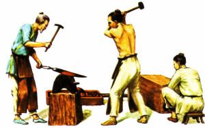 Древнекитайские кузнецы открыли секреты чудо-сплава сами или получили его из какого-то неведомого источника?
