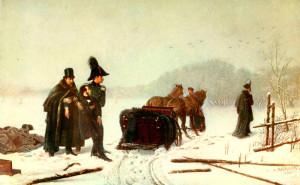 "Алексей Наумов. ""Дуэль Пушкина с Дантесом"". 1884 год"