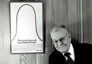 Мэрион Кинг Хабберт, создавший в 1956 году концепцию «пика нефти»