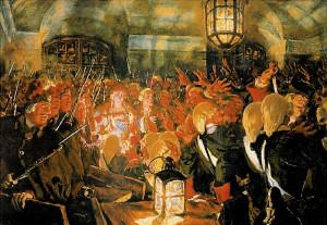 По-настоящему эпоха дворцовых переворотов началась именно с Елизаветы Петровны, хотя Екатерина I тоже пришла к власти не совсем мирно