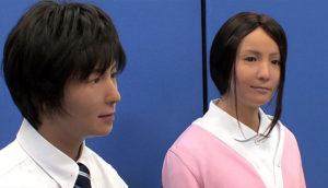 Роботы Actroid