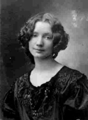 Герда Вегенер - жена художника
