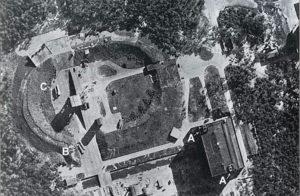 Ракетный центр Третьего рейха. Снимок с английского самолета