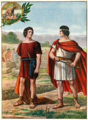 Ромул и Рем: основатели Рима - Вечного города