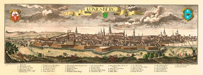 Бастионы первого вального обвода Кёнигсберга.