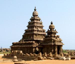 Храм Махабалипурам, расположенный в Ченнаи (Мадрас)