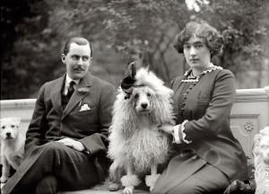 Эдвард Бил Маклин и его жена, наследница Эвелин Уолш-Маклин. 1912 год