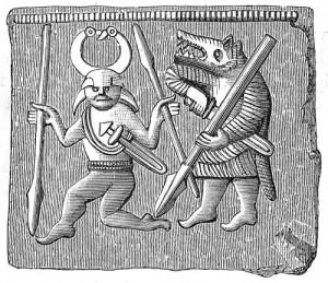 Германские воины носили волчьи шкуры и были невероятно свирепы