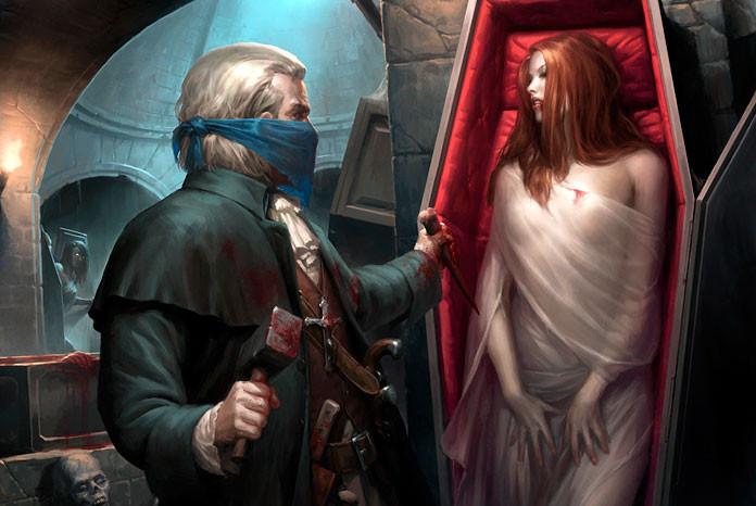 Связь между вампиром и человеком возможна сексуальная