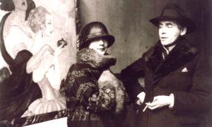 Эйнар Вегенер (справа). Пока в мужском теле