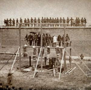 Массовая казнь через повешение. США. 1865 год