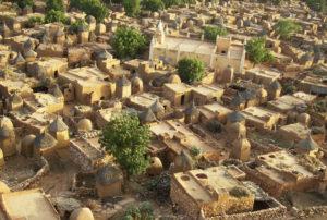 Типичная деревня догонов