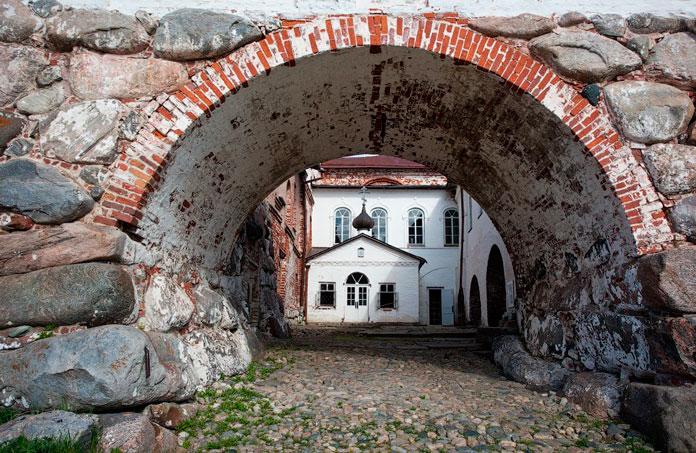 Церковь Преподобного Германа Соловецкого в Соловецком монастыре