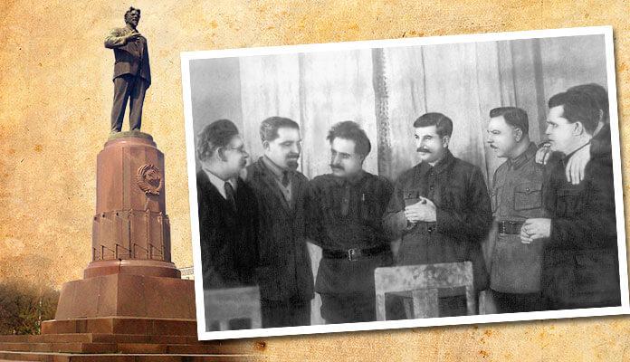 На 50-летии Иосифа Сталина, 21 декабря 1929 года.