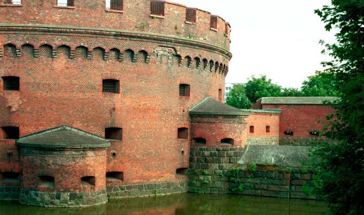 Башня Дона и ее капониры.