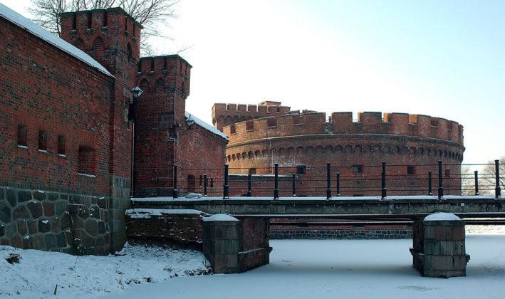 Башня Дона и мост у Росгартенских ворот.
