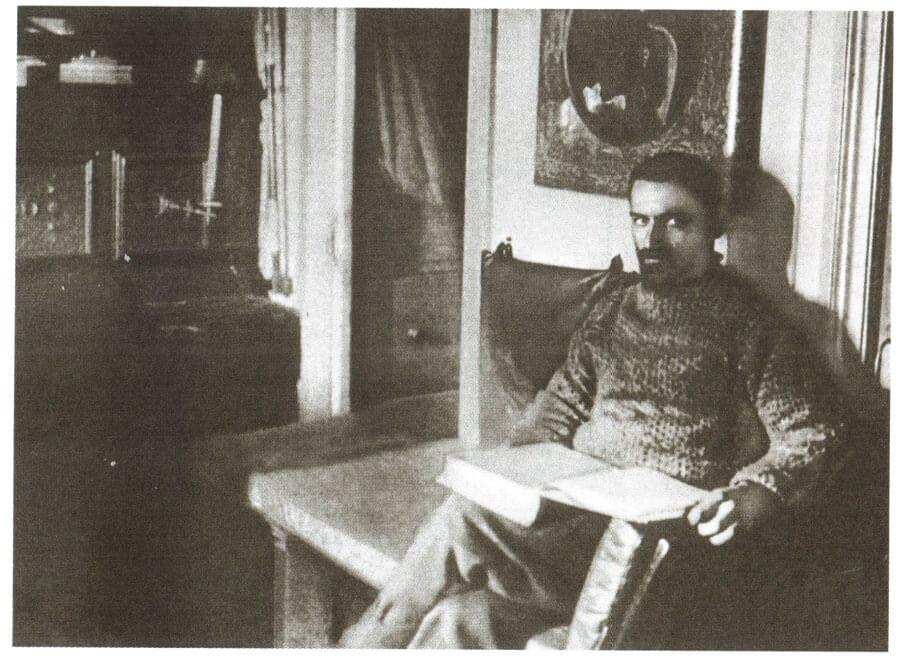"""А.В. Колчак в кают-компании """"Зари"""". Фото: © Wikimedia Commons"""