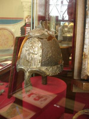 Шлем святого князя Ярослава Всеволодовича, найденный в 1808 году возле села Лыково Владимирской области